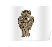 Dr Who- Weeping Angel x French Bulldog Poster