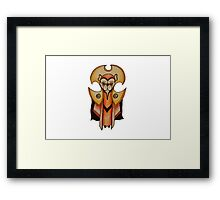 Dr Who- Time Lord x French Bulldog Framed Print