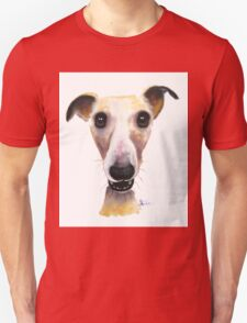 NOSEY DOG 'HOLLYWOLLY' BY SHIRLEY MACARTHUR Unisex T-Shirt