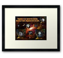 Windows of Opportunity Framed Print