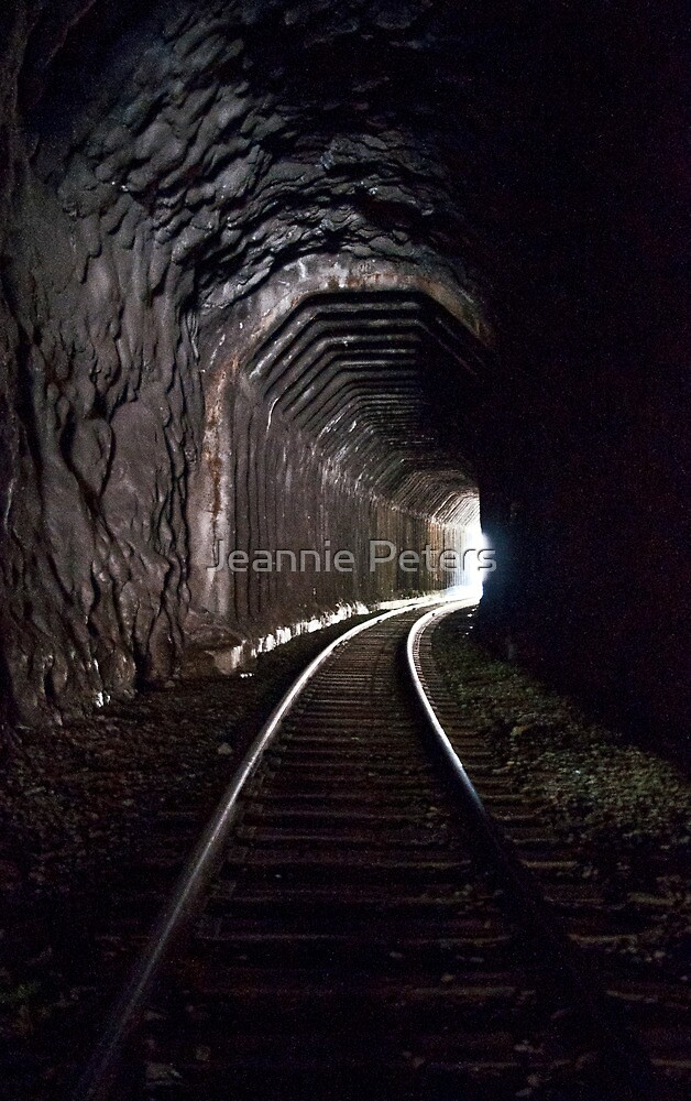 The light at the end of the tunnel by Jeannie Peters