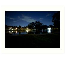 Summerwood Lakes Art Print