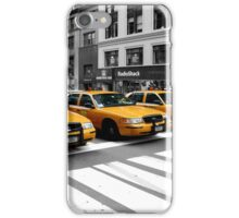 NYC Yellow Cabs Radio Shack iPhone Case/Skin