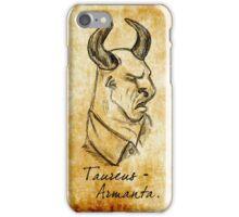 Wesen Series: Taureus Armanta iPhone Case/Skin