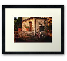 A Day in Tuscany Framed Print