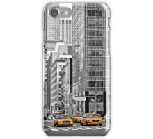 NYC Yellow Cabs NYPD iPhone Case/Skin