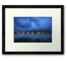 At the Delta of Loudias river Framed Print