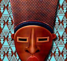 Mask Mvondo by Jamie Rice