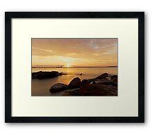 Sunset - Botany Bay Framed Print