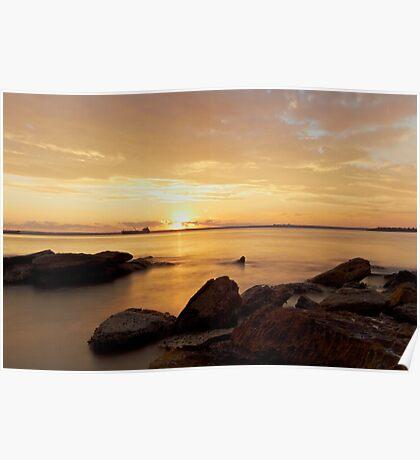 Sunset - Botany Bay Poster