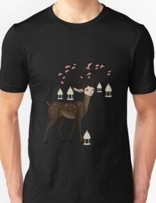 The Happy Springtime Deer! T-Shirt