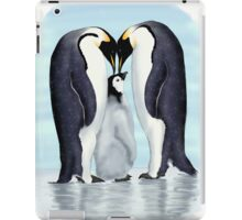 family of penguins iPad Case/Skin