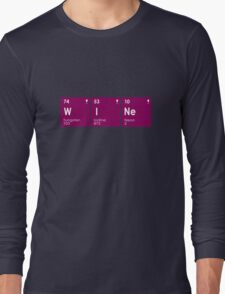 Drink Wine Periodically Long Sleeve T-Shirt