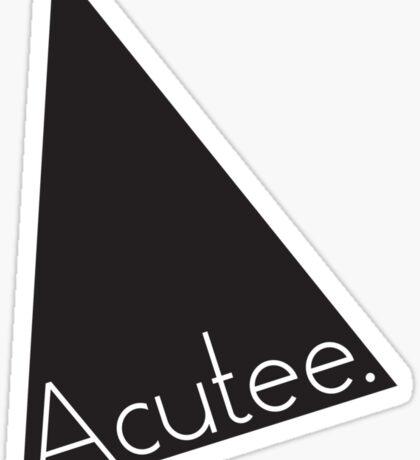 Acutee Sticker
