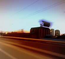 Spokane in the blurr. by Mr. Sherman