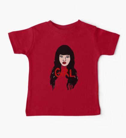 Girl Face Baby Tee