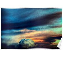 Sunset Cloudscape Poster