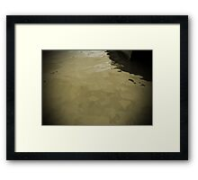 Water World #3 Framed Print