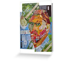 Vincent  in box Greeting Card