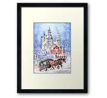 Neuschwanstein Castle Authentic Framed Print