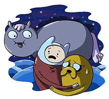 Adventure Time by Liptonic