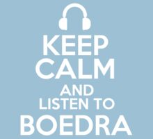 Keep calm and listen to Boedra Kids Clothes