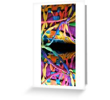 COLOUR Greeting Card