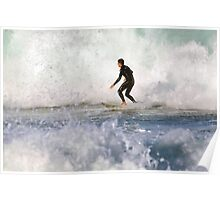 White Water Wash Poster