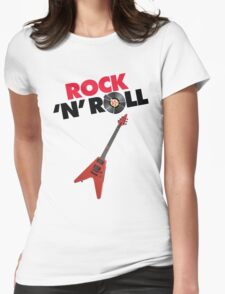 Rock 'n' Roll! Womens Fitted T-Shirt