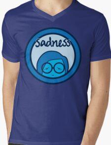 Sadness Mens V-Neck T-Shirt