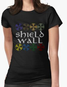 Shield Wall Womens Fitted T-Shirt