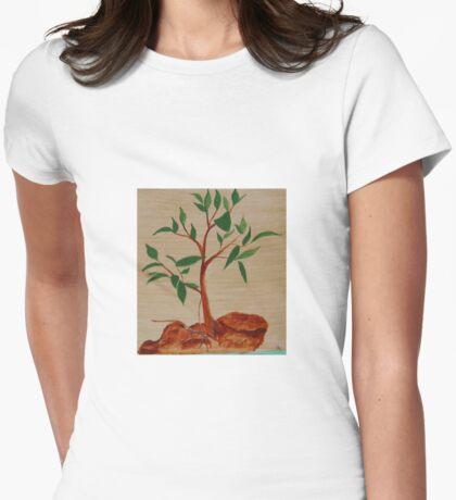 Australian Gum Tree Womens Fitted T-Shirt