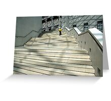 Scale and Steps Greeting Card