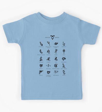 Runes map Kids Tee