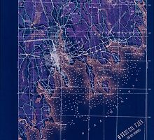 Massachusetts  USGS Historical Topo Map MA New Bedford 352885 1918 62500 Inverted by wetdryvac