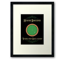 House Baggins Framed Print