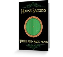 House Baggins Greeting Card