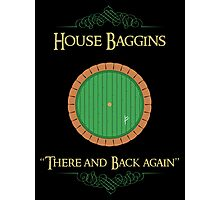 House Baggins Photographic Print