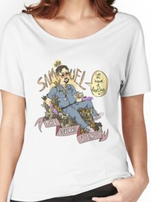 Samuel the Squirrel King Women's Relaxed Fit T-Shirt
