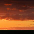 The other side sunset by Michael Howard