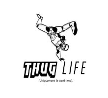 Thug StormTrooper Life Photographic Print