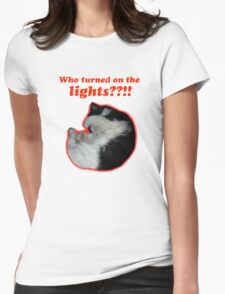 Who turned on the lights? T-Shirt