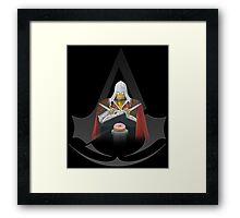 Assassins Greed Framed Print