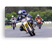 The Angry Pack Canvas Print