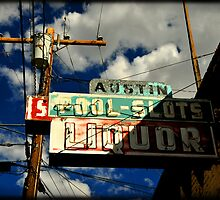 bar sign in Austin Nevada by Catherine Ames
