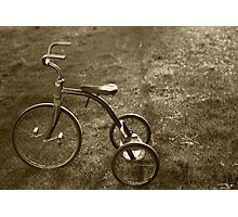 Antique Tricycle.... Photographic Print