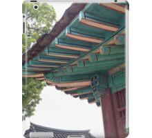 Ancient Korean Rooftop iPad Case/Skin