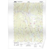 Massachusetts  USGS Historical Topo Map MA Orange 20120606 TM Poster