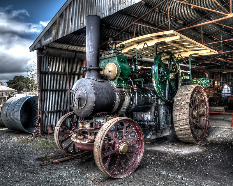 Steam Tractor by Jason Ruth