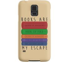 Books Are My Escape Samsung Galaxy Case/Skin